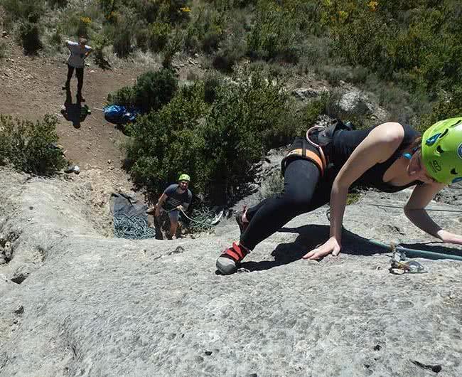 escalando de segunda