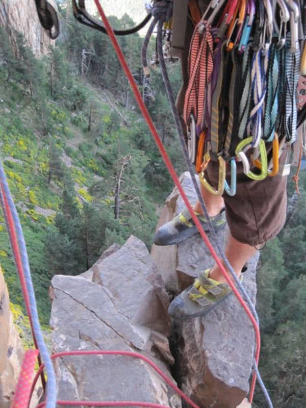 cintas largas para escalada clasica