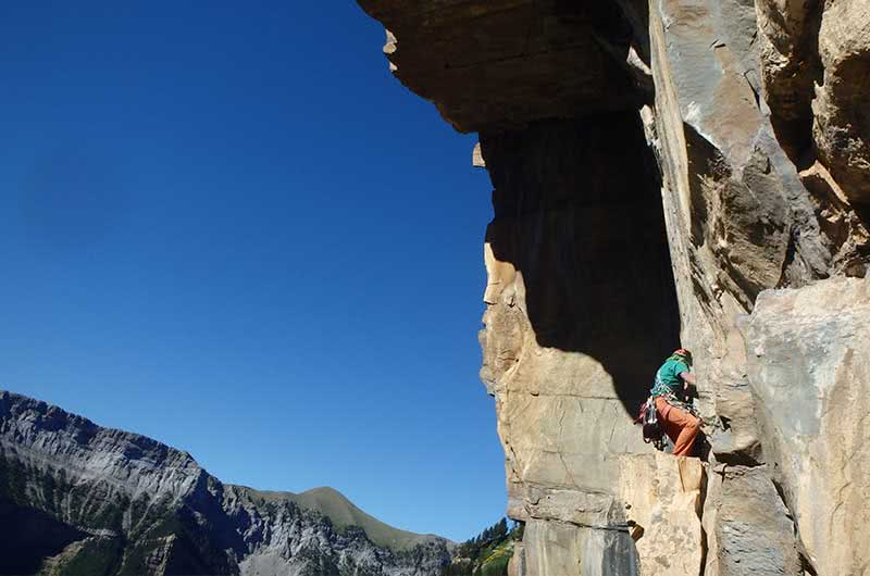 Escalada clasica en Ordesa y Monte Perdido