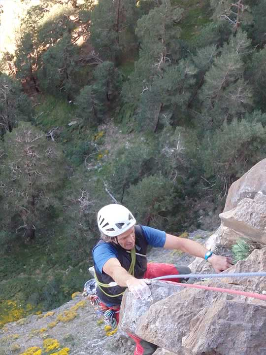 Guiaje de escalada clasica en Ordesa