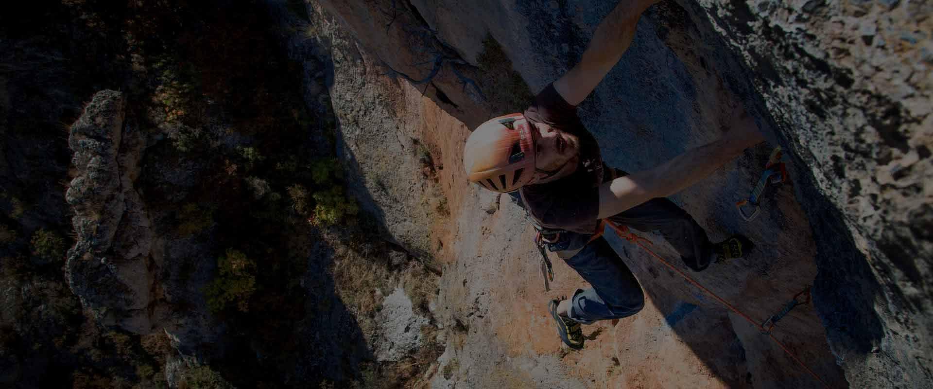 escalada deportiva de dificultad en zaragoza