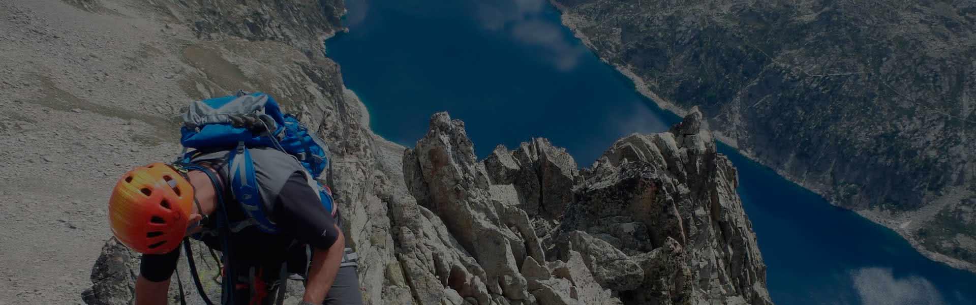Guiaje en crestas y ascensiones