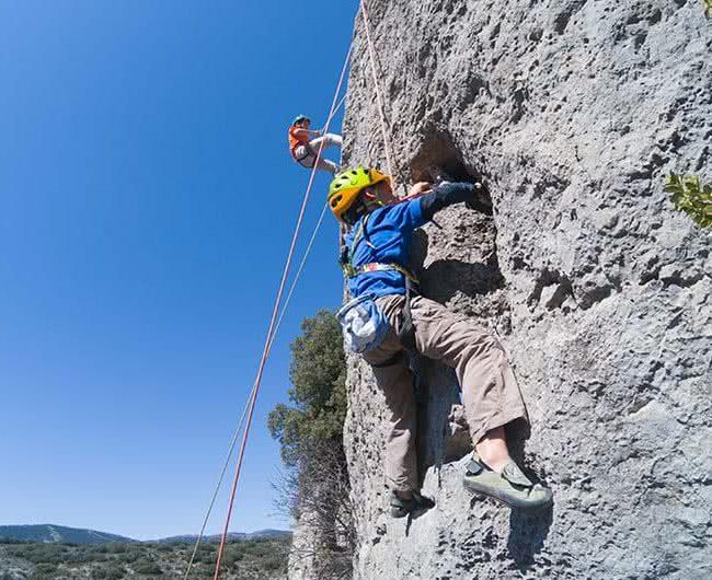 Aprende a escalar en zaragoza