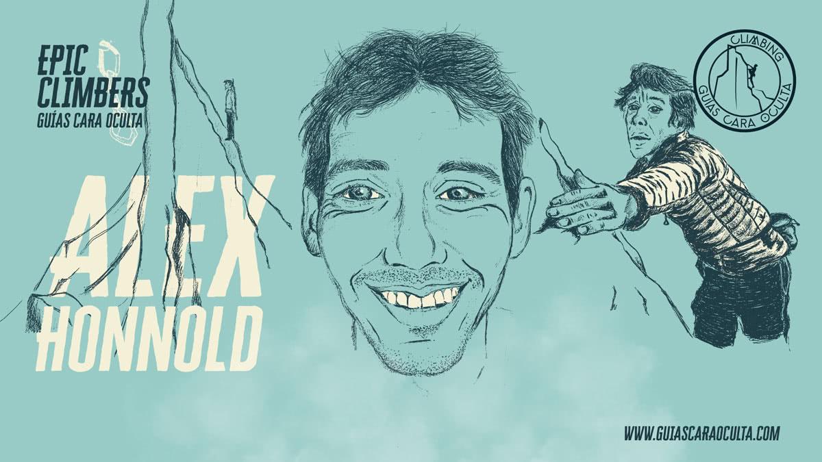 Dibujo Alex Honnold